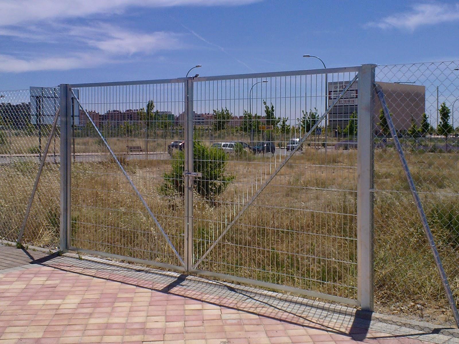 Vallas de obra precio awesome puerta de paso with vallas - Vallas de obra precio ...
