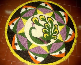 Indian rangoli designs with dots 2016