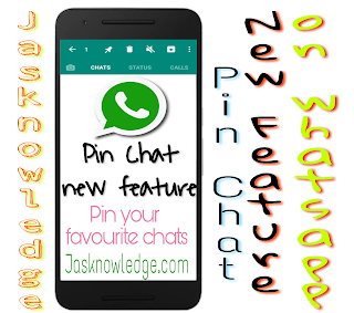 WhatsApp new update : Pin Chat Feature