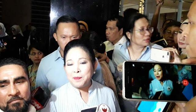 Titiek Soeharto: Semoga Pendukung Happy