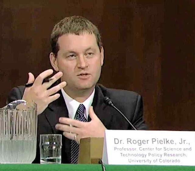 """Dr. Roger Pielke Jr.: """"o mundo está passando por um período de desastres climáticos inusualmente baixos"""""""