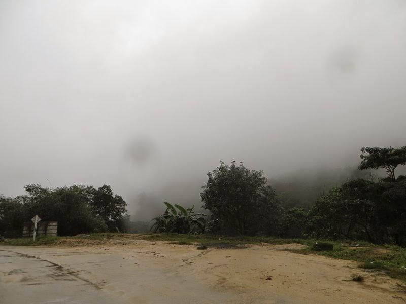 В горах на Саумуи