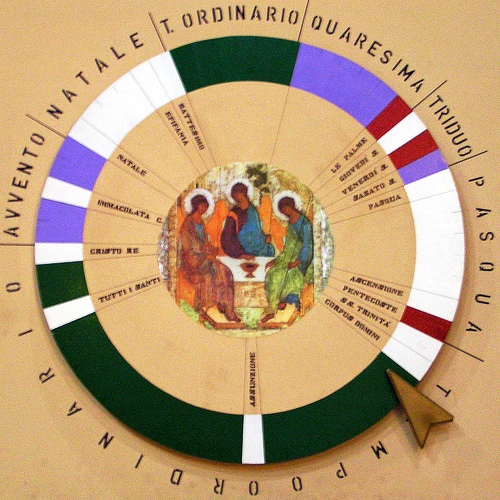 Calendario Liturgico Per Bambini.Anno Liturgico Da Colorare Per Bambini Religiocando