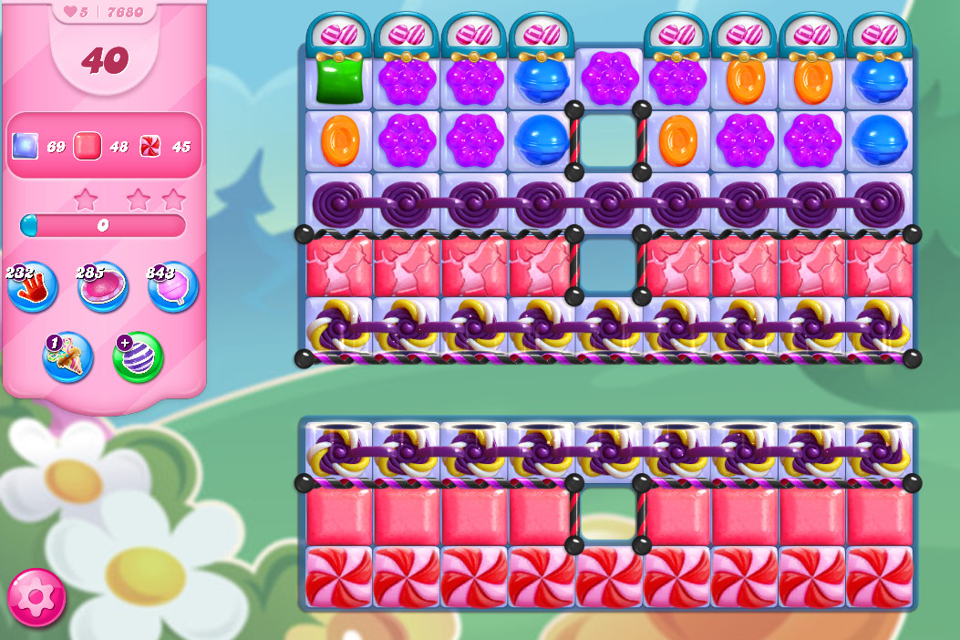 Candy Crush Saga level 7680