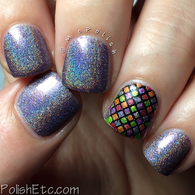 Pahlish - Happy Holo-Ween II - McPolish - Black Licorice Bats