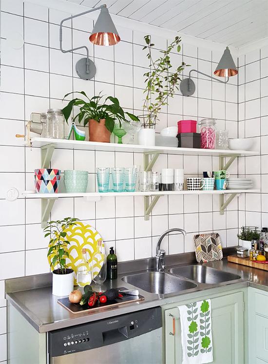 cozinha bonita, prateleira, kitchen, cozinha, decoração, decor