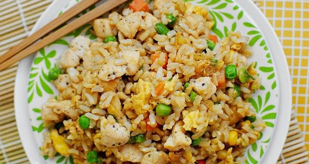 Skinnylightful Chicken Fried Rice , weight watchers recipes , 7 smart points