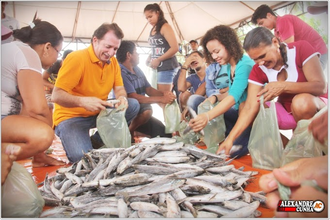 Prefeitura de Chapadinha distribuirá 40 toneladas de peixes para a população carente na próxima quarta-feira (28).