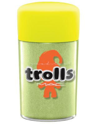 MAC Good Trolls pigment chartreuse