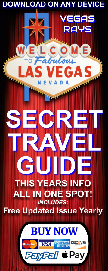 SAVE 50% OFF GUIDE - USE CODE: VEGAS50