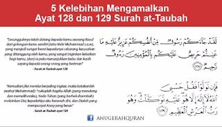 Surat At-Taubat Ayat 128-129 (Tafsir, Bacaan dan Terjemahan)