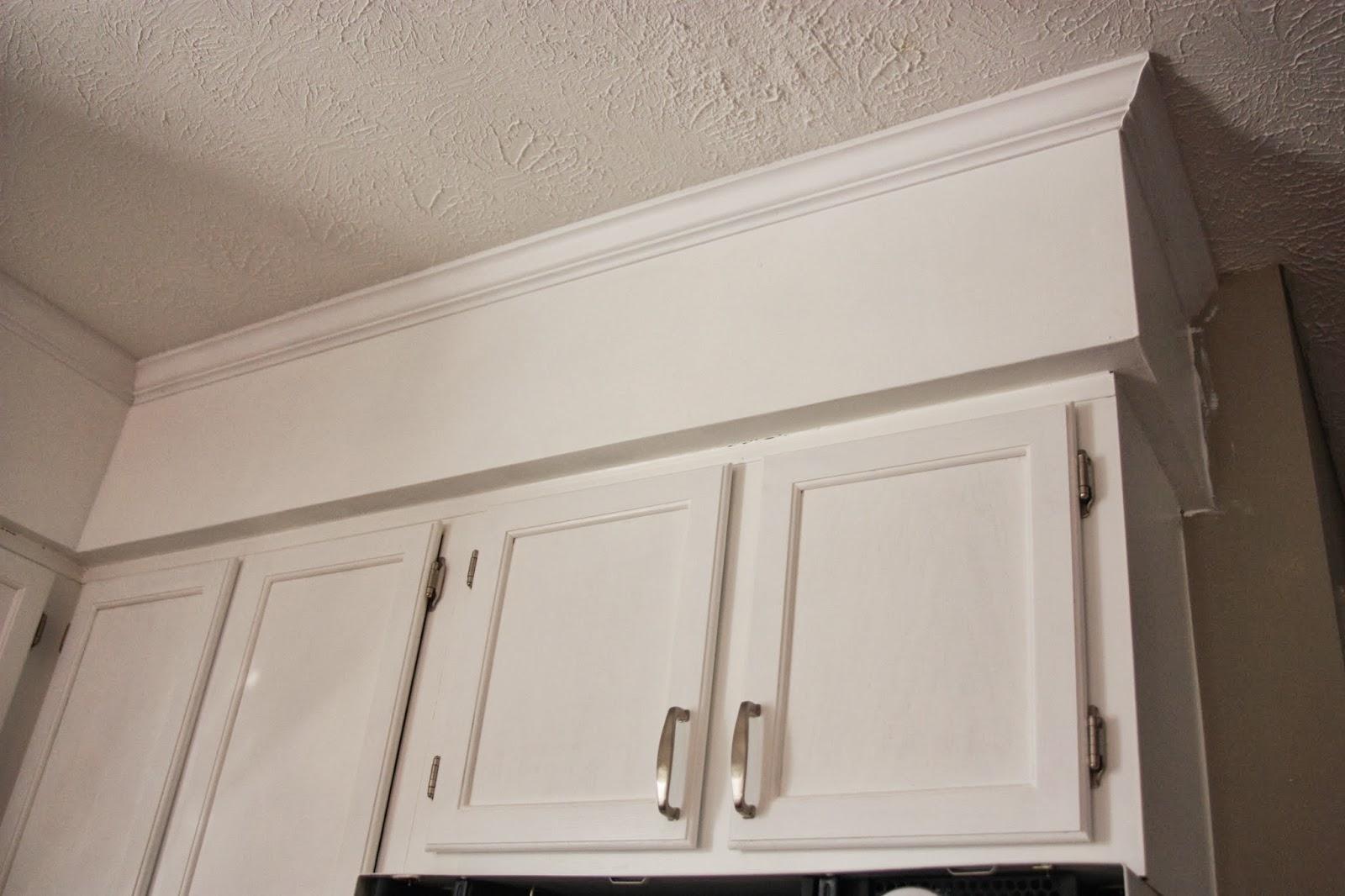 Kitchen Cabinet Trim Installation Spices Soffits Crown Molding Design Ideas