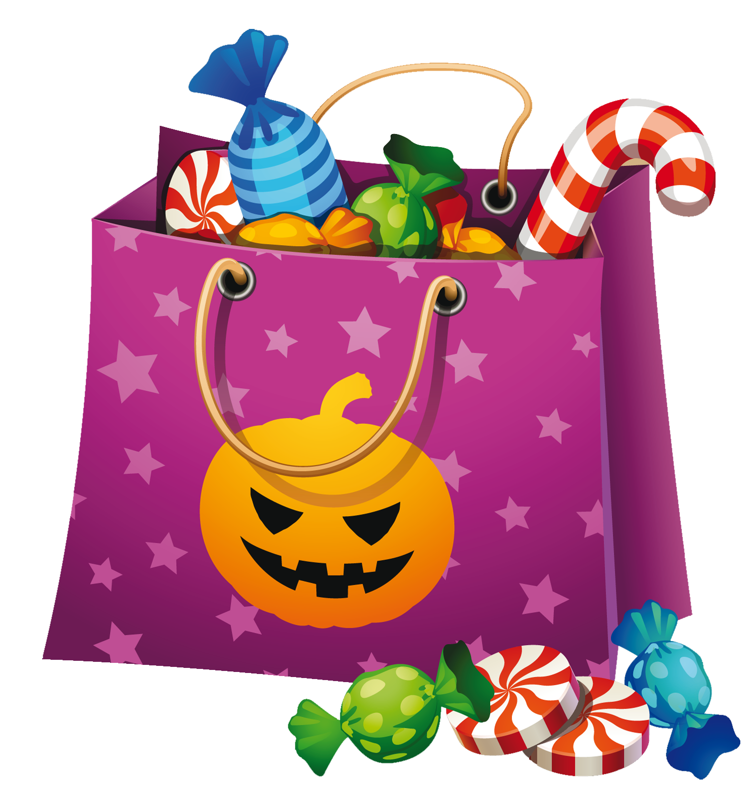 Free happy halloween pumpkin,spider,candy,cat clipart images for ...