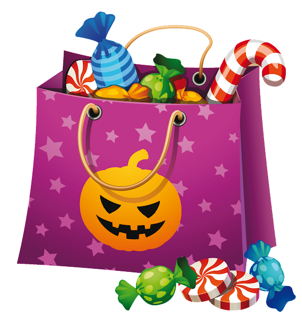 Free happy halloween candy clipart images download