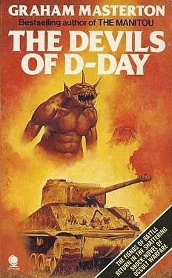 "Graham Masterton - ""The Devils of D-Day"" - okładka książki"