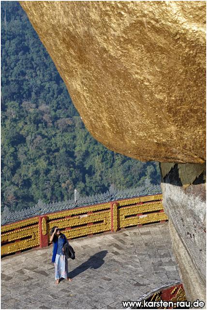 الصخرة الذهبية ...