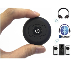 NewRice High-Fidelity Wireless Bluetooth 4.0 Stereo Music Transmitter for Pairing with Bluetooth Stereo Headset, Headphones, Speakers and other Stereo Audio Enabled System