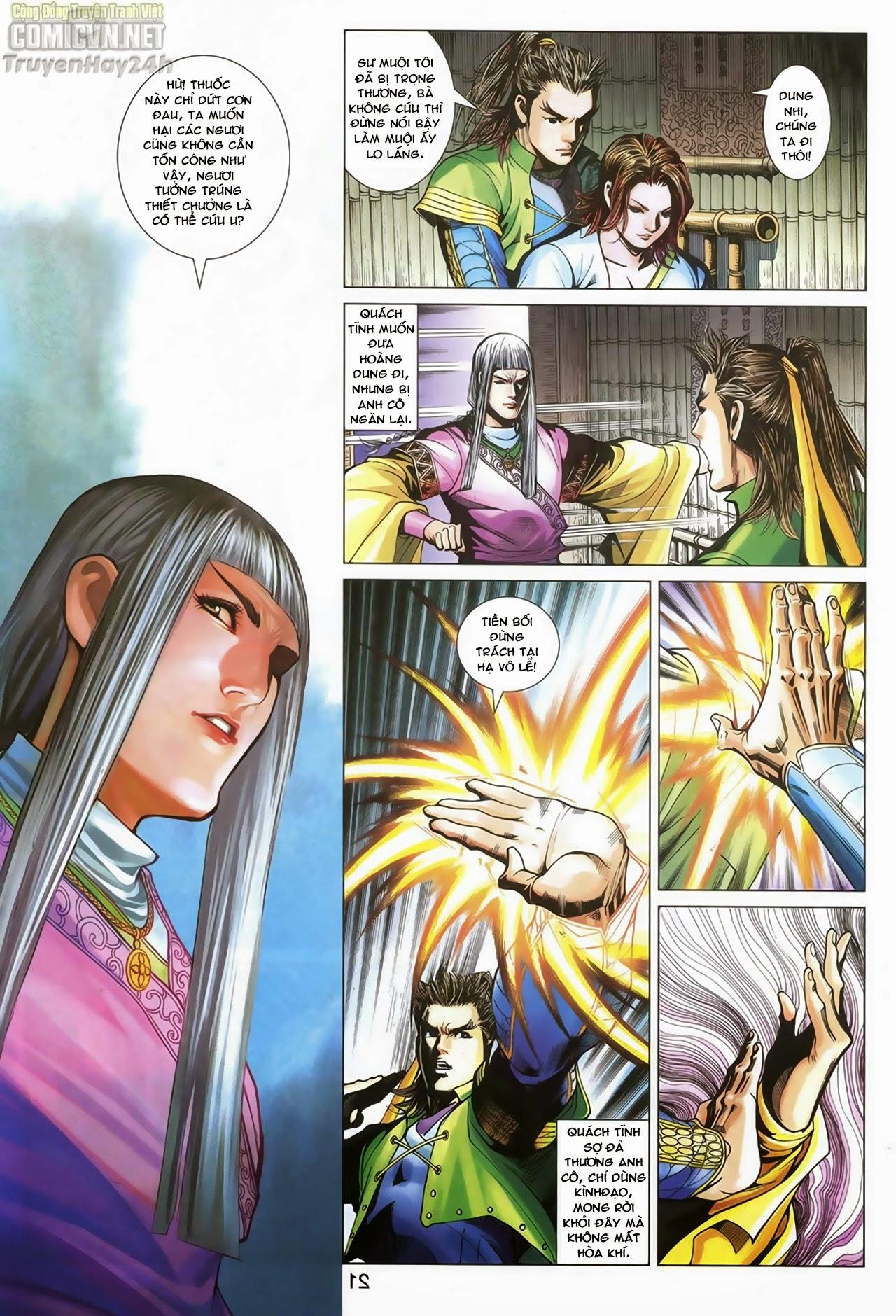 Anh Hùng Xạ Điêu anh hùng xạ đêu chap 70: hắc chiểu ẩn nữ trang 22