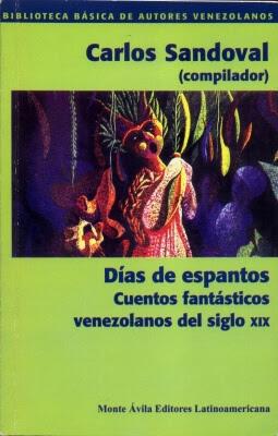 Carátula de Días de Espantos - Carlos Sandoval (compilador)
