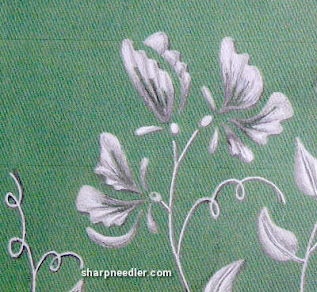 Ann's Orchard Pea Green Clutch Bag: Experimenting with greys