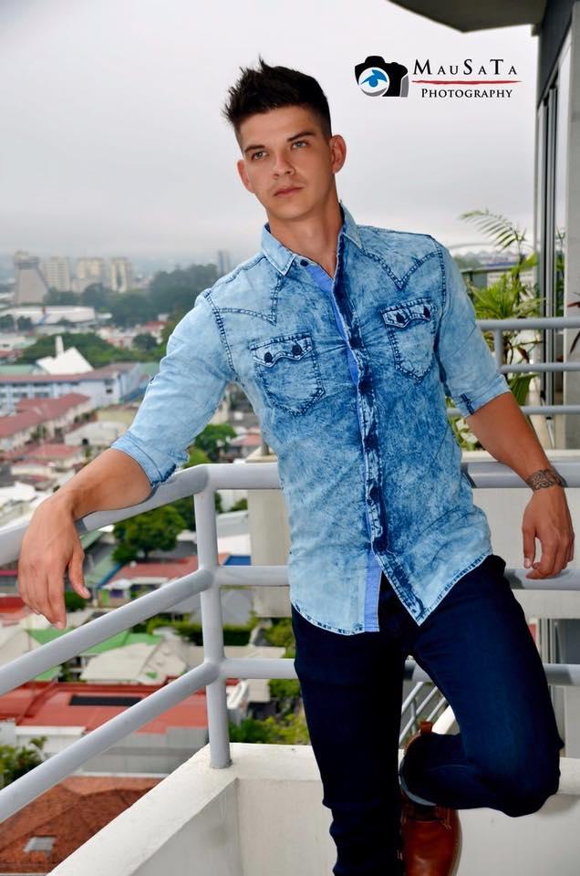 Man Central: Daniel Alfaro: In Casual Wear