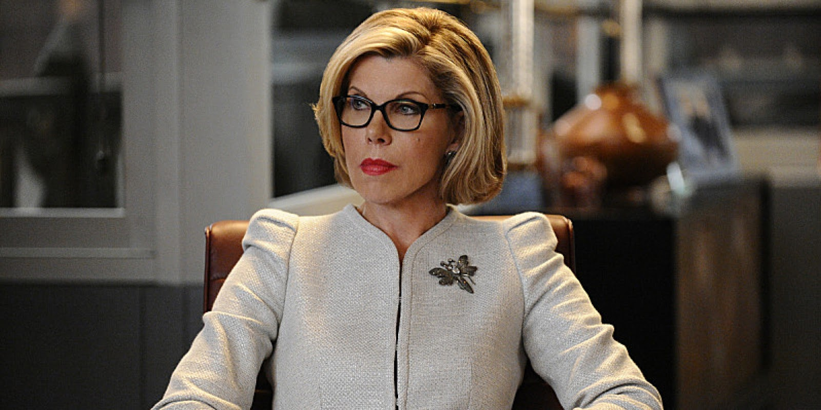 "Diane Lockhart pierde en esta segunda temporada de ""The good fight"" los estribos"