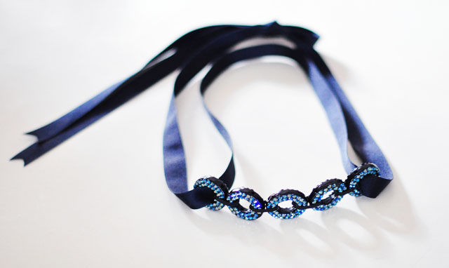 looping circles hair accessory, belt, necklace, DIY fashion