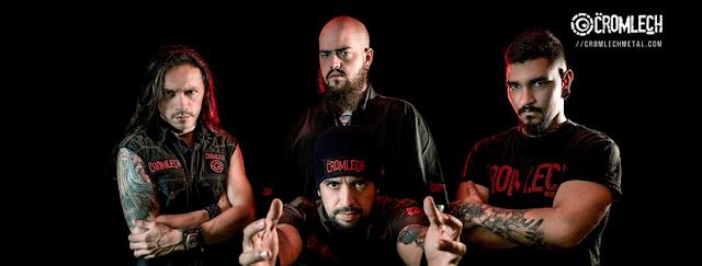 En este episodio compartimos historias con la banda CROMLECH, una banda de Death Metal de la ciudad de Medellín, una propuesta musical llena de energía y de líricas honestas, desde 1994 contando historias y experiencias de odio, ira, amor, vida y muerte, dentro de un marco musical con ritmos envolventes agresivos y fuertes unas veces; pero también melódicos y atmosféricos en otras.