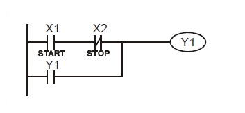 Industrial Control Electronics in addition Ladder Logic Diagrams Ex les To moreover Open And Closed Circuit Parallel Diagram further Electrical Wiring Diagrams For Dummies moreover Auto Relay Symbol. on start stop circuit ladder