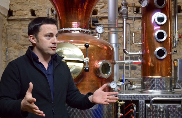 Sion Edwards from Warner Edwards Gin