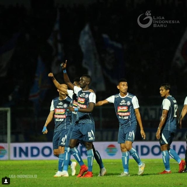 Makan Konate Arema FC