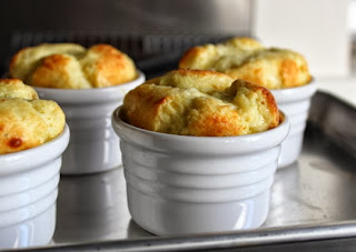 Apple & Cheddar Cheese Soufflés – Great for People Who Stink at Folding Egg Whites