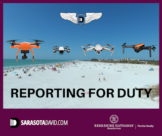 David Barr's Sarasota drone air force for real estate marketing