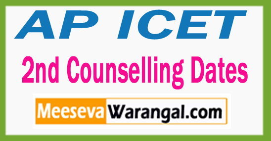 AP ICET 2nd Counselling Dates 2017