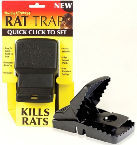 Little Blog In The Big Woods: Rat Control: Review
