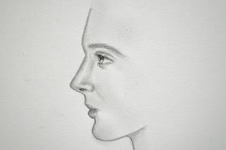 تعلم رسم الوجه الجانبي