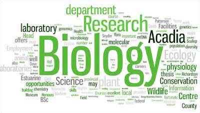 cabang cabang ilmu biologi dan pengeritannya