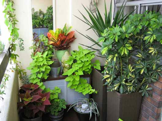 cool design balcony garden