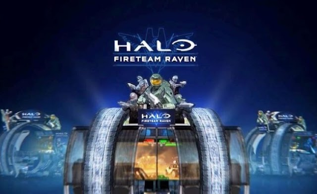 Microsoft's new Halo arcade game lives within a large machine