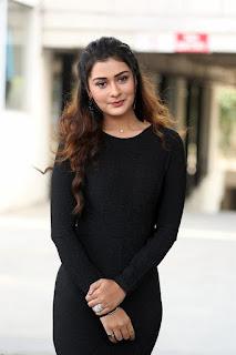 Actress Payal Rajput Stills At Venky Mama Movie Success Meet