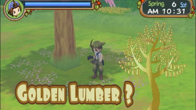 Rumor Adanya Lumber Emas Harvest Moon: Hero of Leaf Valley
