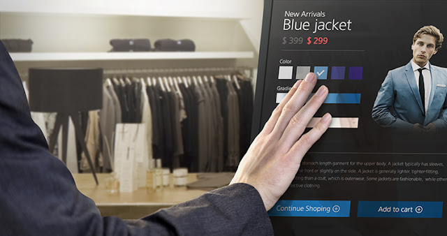 interactividad, pantallas interactivas, digital signage, retail, fashion