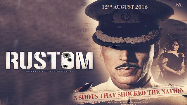 Rustom, Movie Poster, Akshay Kumar