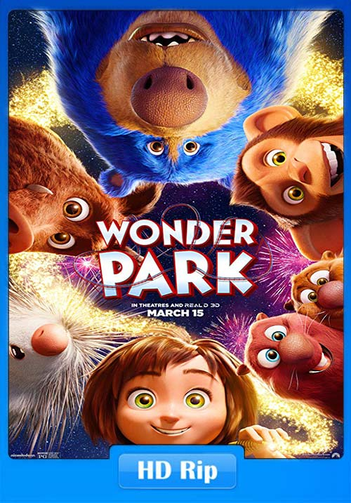 Wonder Park 2019 720p BDRip Hindi Tamil Telugu Eng x264 | 480p 300MB | 100MB HEVC
