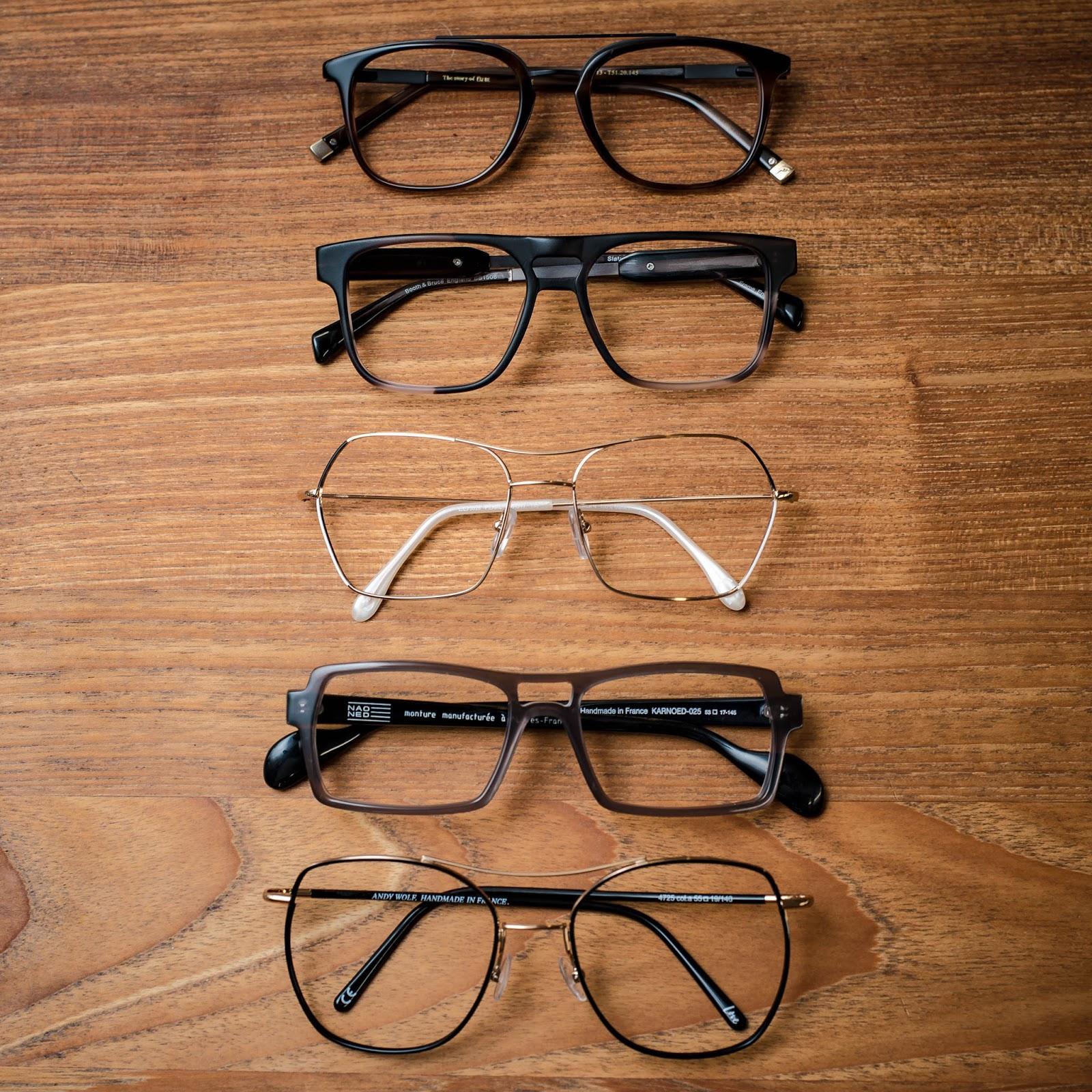 34a51cc5f903 Highbrow society  The double bar design dominates the eyeglass world ...