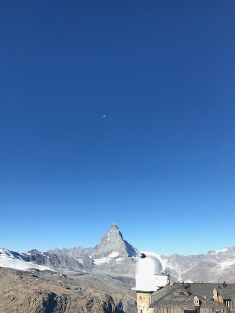 実際に行った時にゴルナーグラートから撮影したマッターホルンです