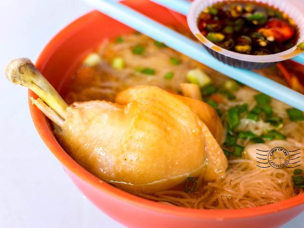 Duck Noodles 鸭腿面线 and Breakfast @ Sungai Pinang, Penang