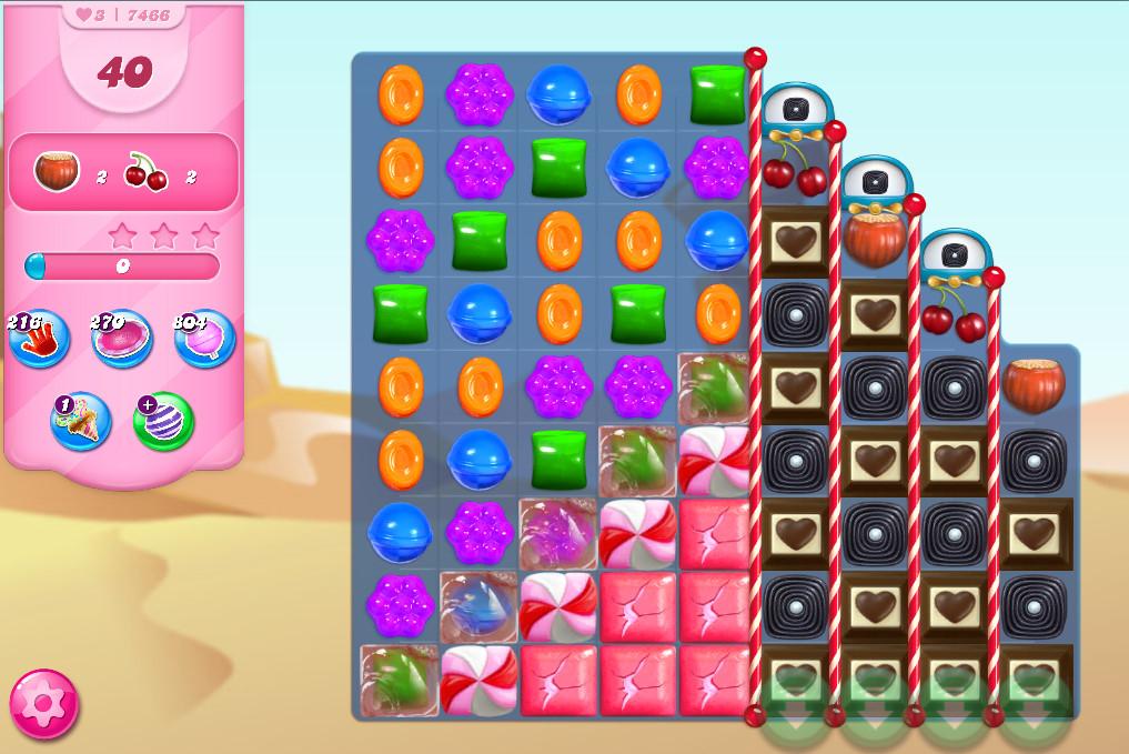 Candy Crush Saga level 7466
