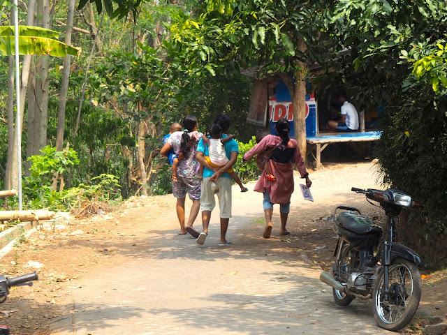 Seloliman village, East Java, Indonesia