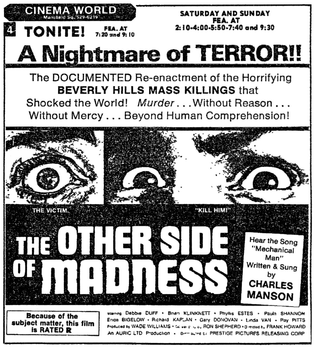 Manson Exploitation – The Other Side of Madness
